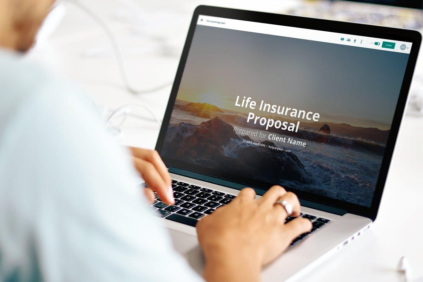life-insurance-proposal-template
