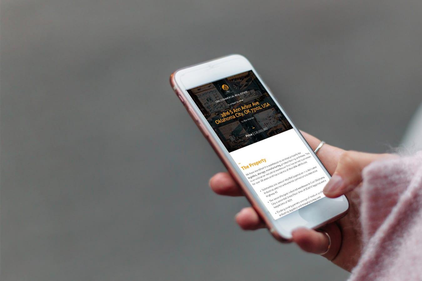 mobile-commercial-real-estate-information-brochure