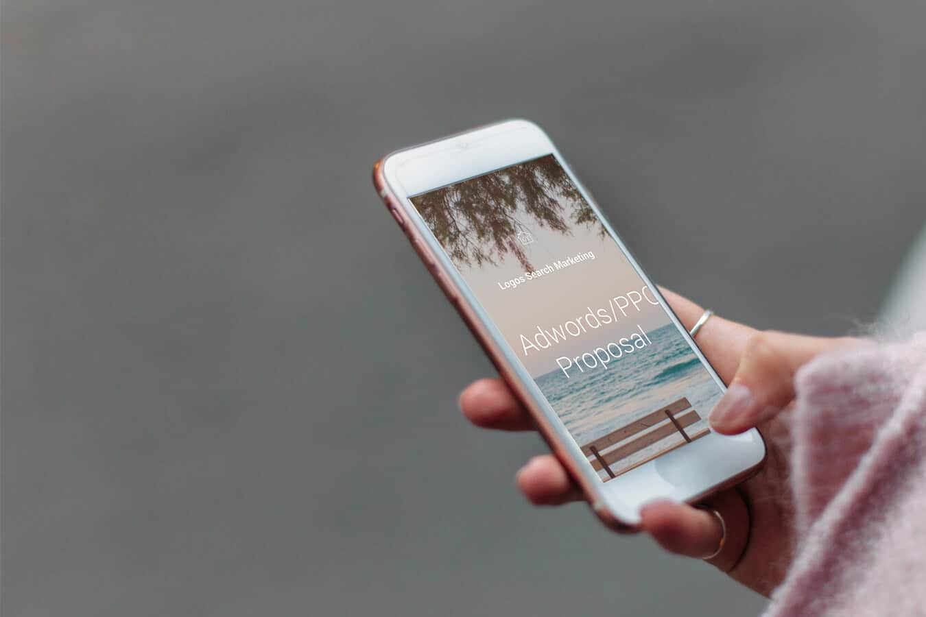 iphone-adwords-PPC-proposal
